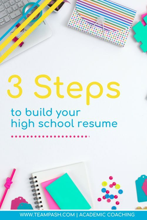 Things Needed In A Resume | 3 Steps To Build Your Resume For College Applications All Things