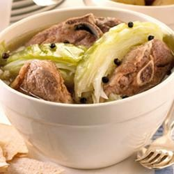 Fårikål - Norwegian dish. Lamb and cabbage stew. This is what is for dinner tonight!