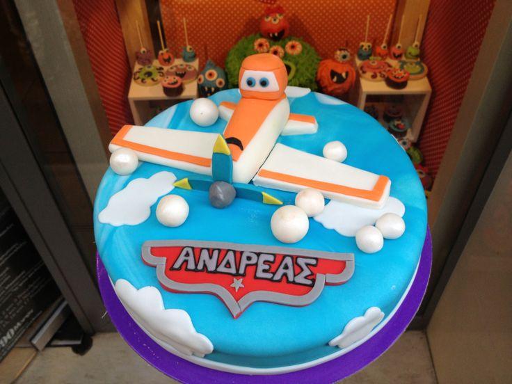 Τούρτες Γενεθλίων - Αεροπλάνο! #sugarela #TourtesGenethlion #planes #BirthdayCakes