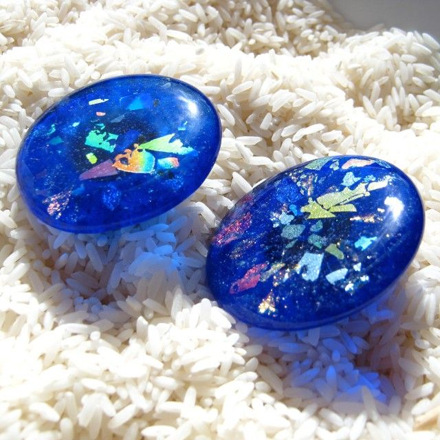 Unique Cobalt Blue Fused Glass Cabinet Hardware Knobs, Handles, Pulls And  Tiles Handmade By