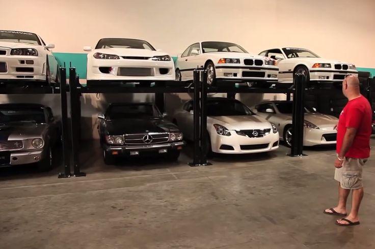 a video tour of paul walkers epic car collection video paul walker car and paul walker. Black Bedroom Furniture Sets. Home Design Ideas