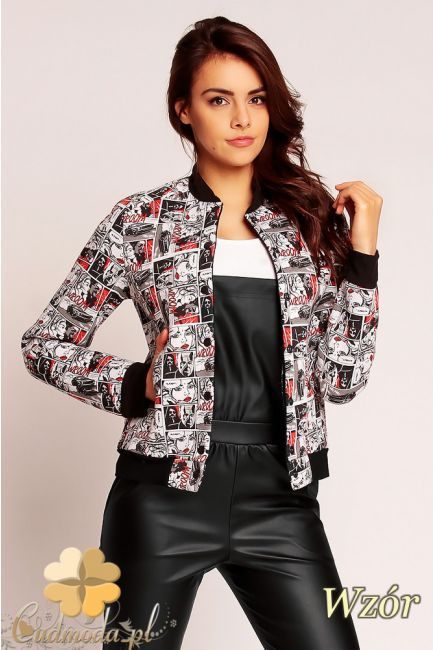 Kurtka bejsbolówka marki Nommo.  #cudmoda #moda #ubrania #odzież #clothes #styl #kurtki #kleidung