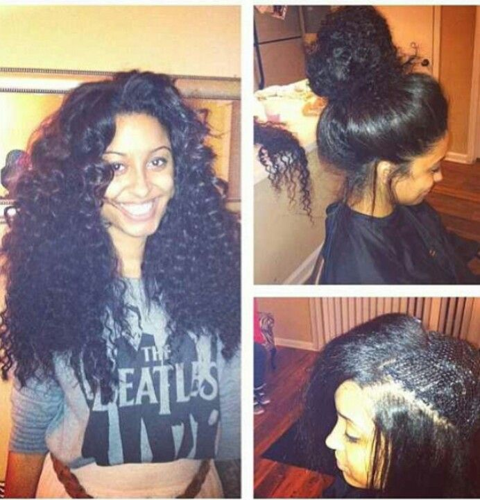 outside  Hair Fair  Pinterest  Curly hair, Puffy hair and Crochet