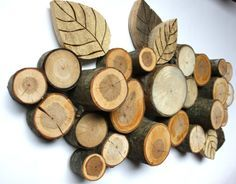 Branch and Pallet Wall Hanging