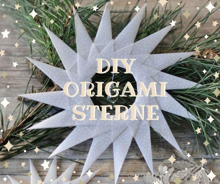 Einen Weihnachtsstern zu falten ist ganz einfach! Mit unserer Anleitung, gelingt ein Origamistern aus feinem Pergament selbst Kindern ganz leicht