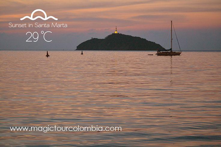 Sunsets santa marta, colorful natural paradise! #travel #adventure #culture #santamarta #colombia #beaches #love