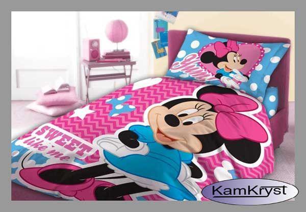 Pościel dziecięca do łóżeczka Disney 100x135 - pościel bawełniana firmy Faro.