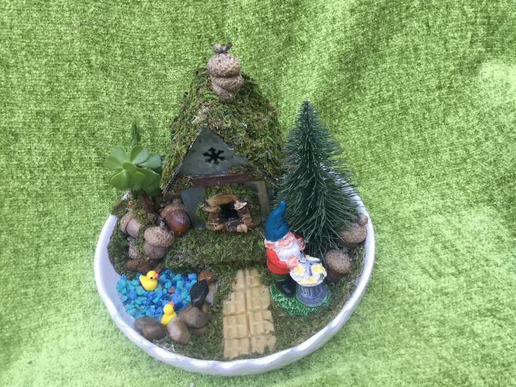 Fairy Garden  Gnome Home