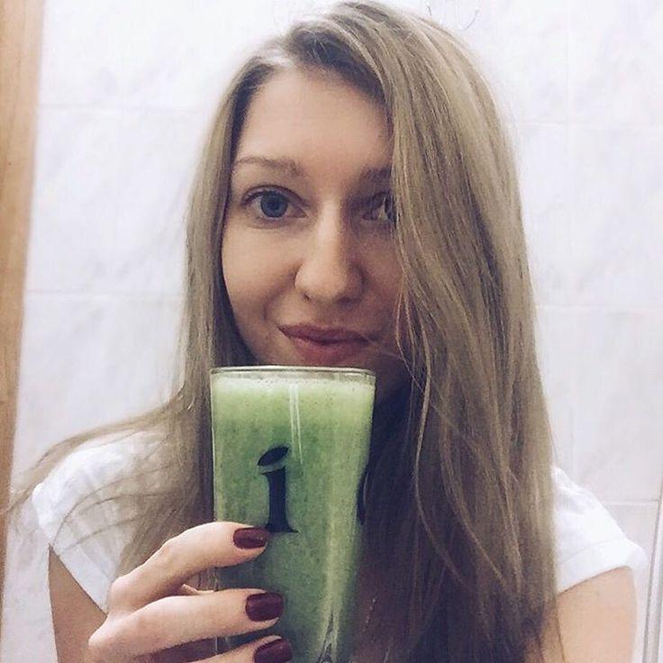 Green smoothie made my day Моя новая любовь - зеленый смузи Сельдерей+шпинат+банан+лайм  #СкороБудуКакОгурчик #ЗожВыпендреж #НеСтесняйсяОзеленяйся #смузи #smuzi #vegan #veganfood #vegans #vegaterian #greensmoothie #smoothie #cleanfood #smuzi_zdorovo