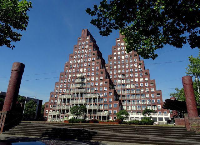 Netherlands: The Pyramids (De Piramides) in Amsterdam West