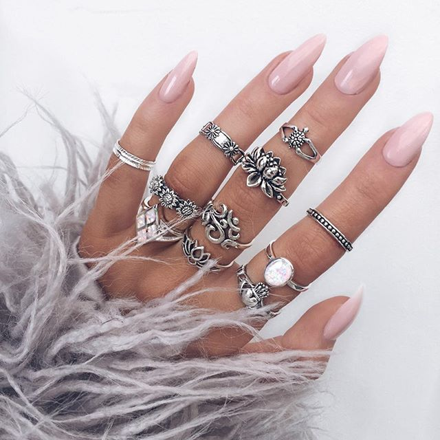 Instagram media indigo_lune - Shop all these sterling silver rings from our site // INDIGOLUNE.com