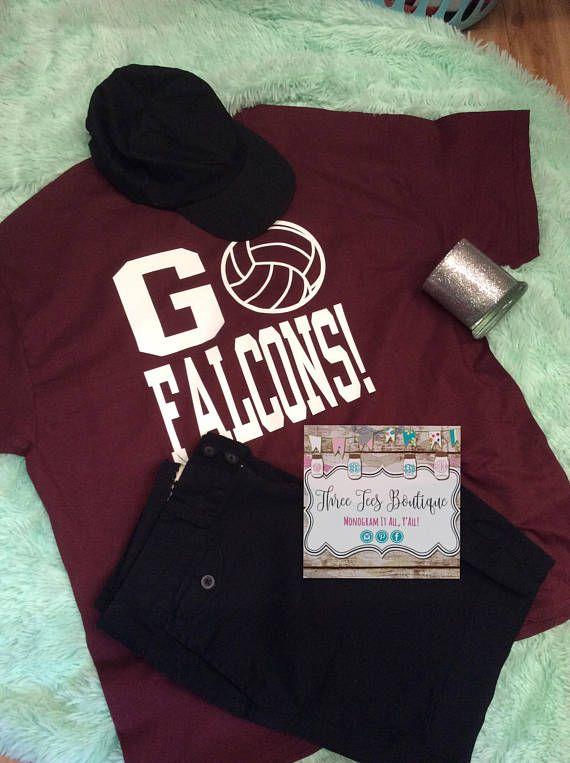 Volleyball Shirt. Volleyball Mom Shirt. Volleyball Team Shirt.