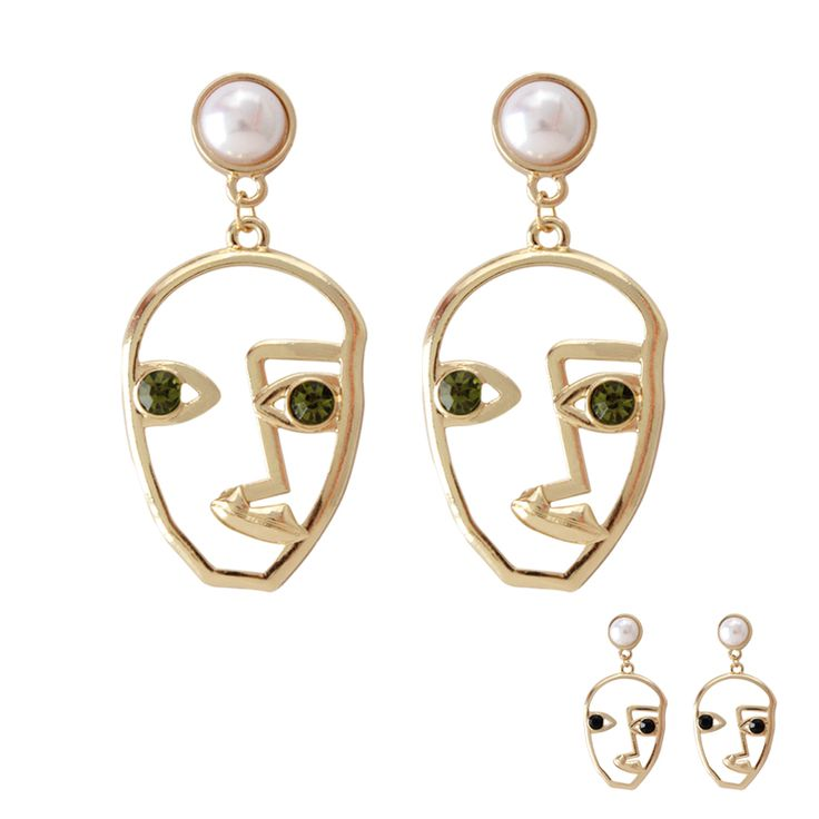 Aliexpress.com : Buy Free shipping trend ladies jewelry Personalized smiley face  simple fashion lady earrings men and women Funny party accessories from Reliable earrings fashion suppliers on ENZE Factory (Qingdao) Store