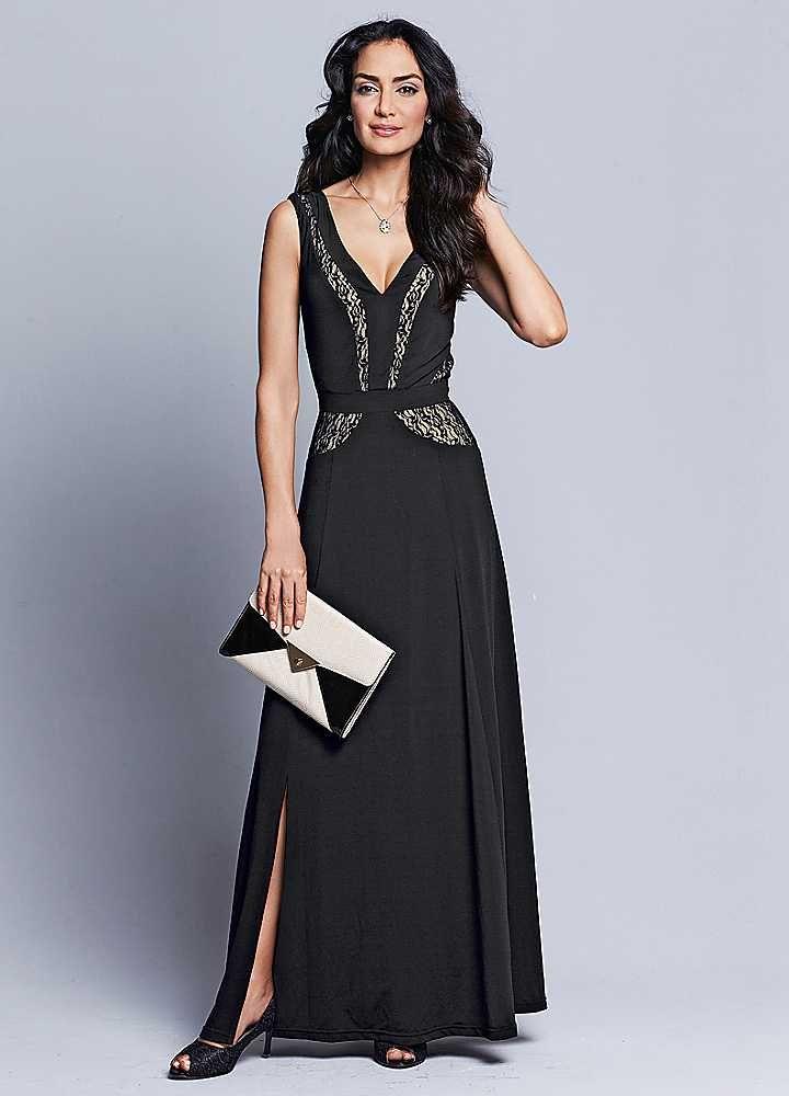 Lace Panelled Insert Dress
