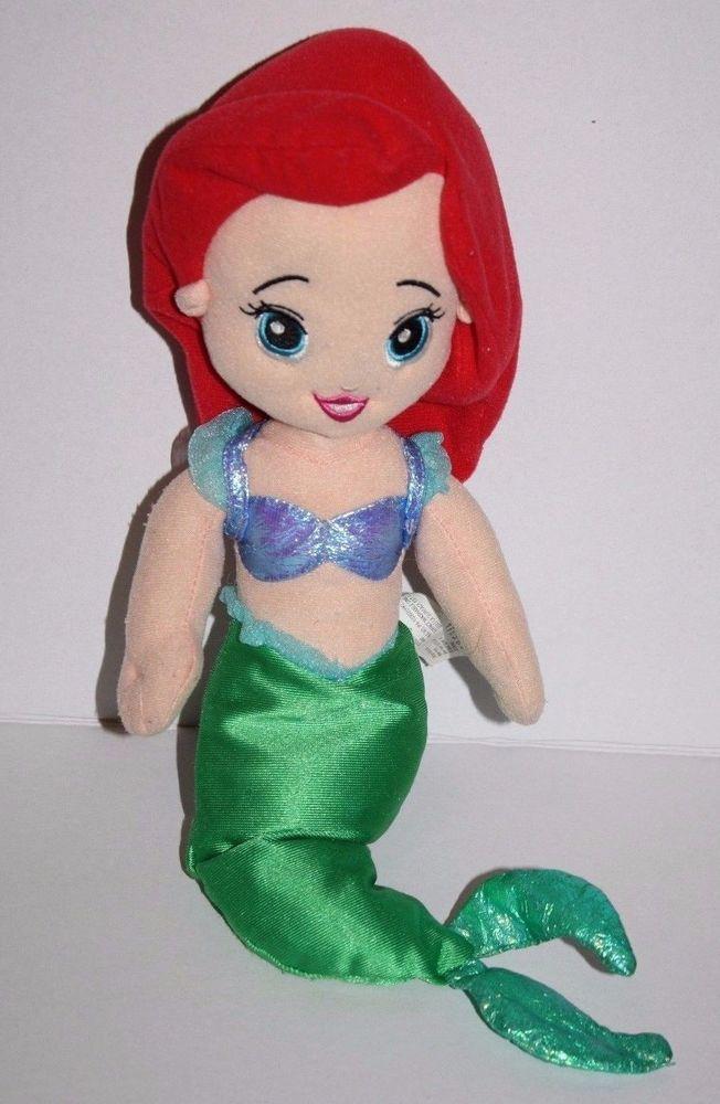 Fisher Price Princess ARIEL THE LITTLE MERMAID 15'' Plush Doll Soft Stuffed Toy #FisherPrice