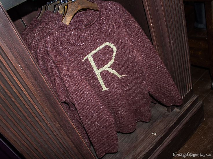 Rons Christmas Sweater Madam Malkins Harry Potter Theme Park