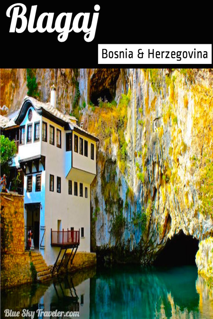 Blagaj Tekke, just 6km from Mostar, was built for the Sufi Dervish and is considered one of the most mystical places in all of Bosnia and Herzegovina.