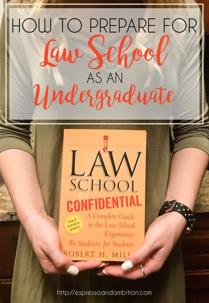 How to Prepare for Law School as