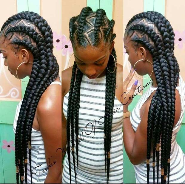 Best 25 long cornrows ideas on pinterest natural braid styles 31 cornrow styles to copy for summer urmus Images