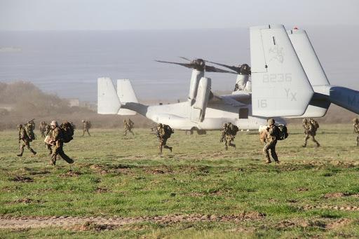 平成24年度第2回米国における米海兵隊との実動訓練(アイアンフィスト)
