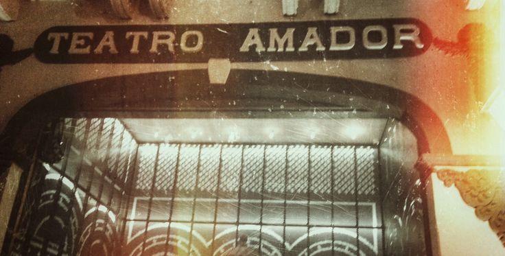 The outside of Teatro Amador in Casco Viejo, Panama
