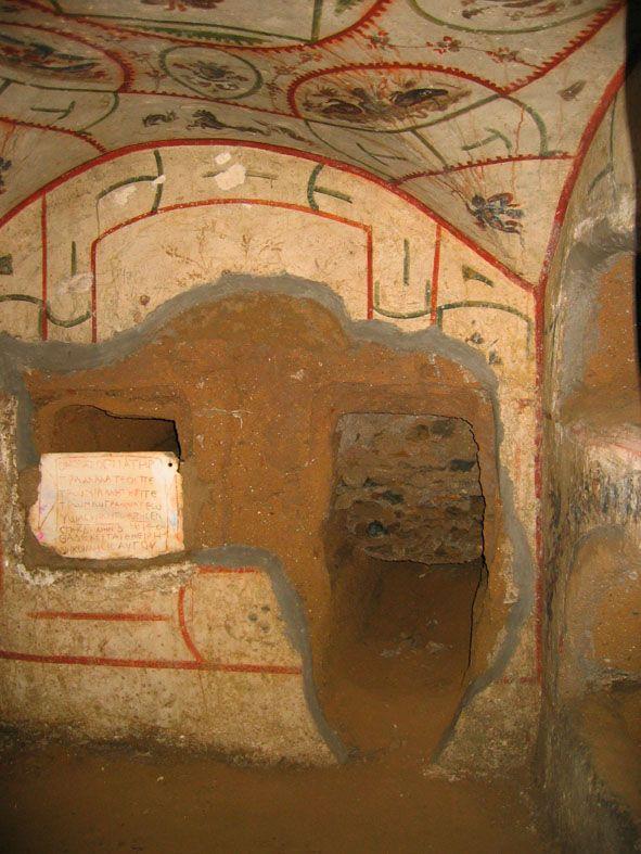 Jüdische Katakombe in der Vigna Randanini