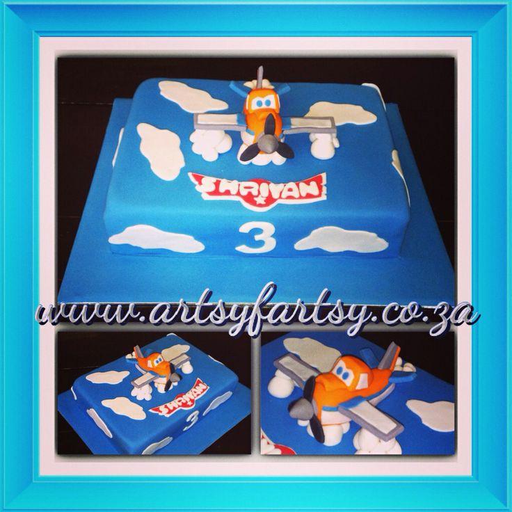 Dusty from Disney Planes Cake