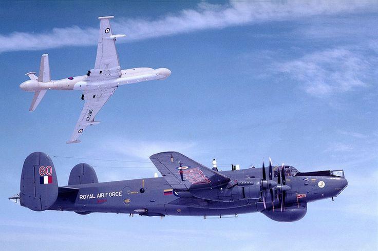 Shackleton AEW.2 + Nimrod AEW.3