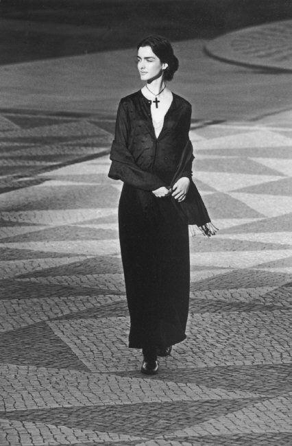 Ferdinando Scianna 1998 Lisbon  Portugal  fashion story