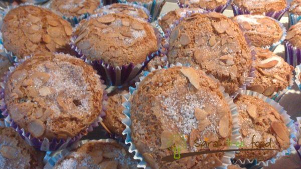 Il compleanno tutto vegan di Anthony con muffins ai mirtilli rossi. Very English. Happy birthday!!!
