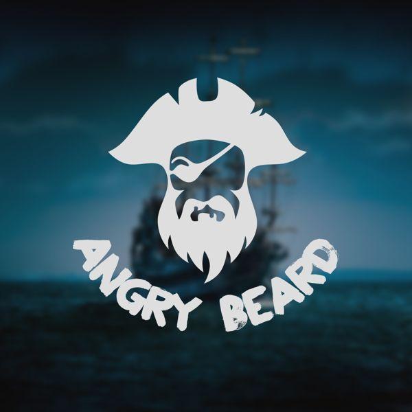 Angry Beard Logo by JA Design, via Behance