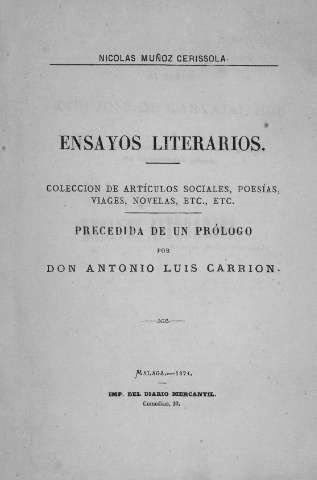 Muñoz Cerissola, Nicolás