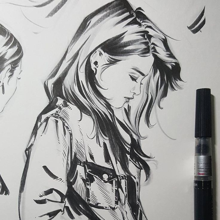 Side profile · life drawinggirl