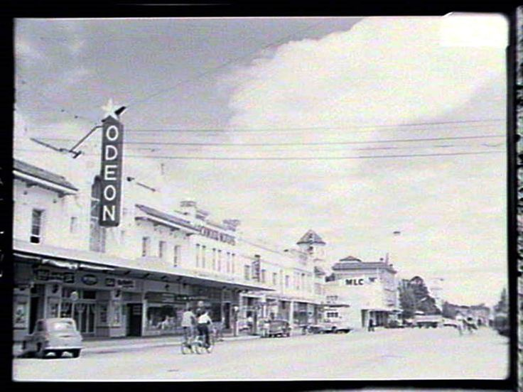 Odeon Theatre, Auburn Street, Goulburn (site of the Goulburn Square).