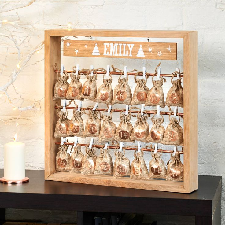 Are you interested in our Christmas advent sacks? With our personalised advent calendar you need look no further.