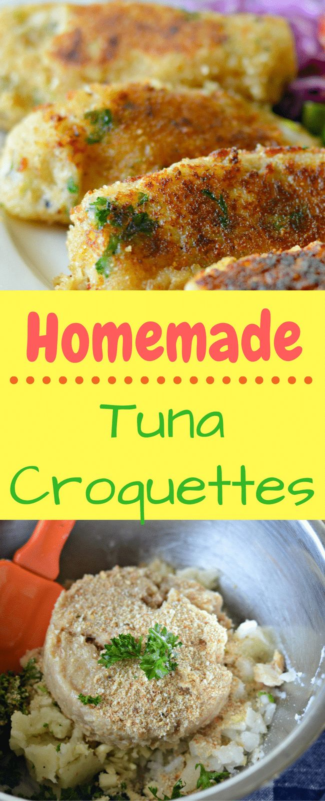 This homemade tuna croquettes recipe is easy and affordable to make. You will love how all of the flavors combine to make a delicious meals. OnlyAlbacore AD @bumblebeefoods