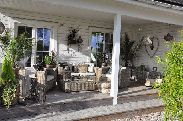Den Vita Drömgården: Härlig helg med westernclinic, plantering och fix