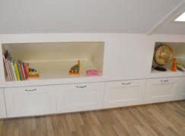 Ingebouwde kastjes kinderkamer