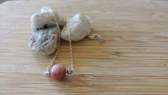 Collection Pure // Collier Opale et Argent 925 par Piuvita sur Etsy #bijoux #jewels #stone #pierresemiprecieuse #necklace #collier #handmade #faitmain #opale #opal #jewelry #madeinfrance #fabricationfrancaise #créateur #etsy #silver925 #argent925