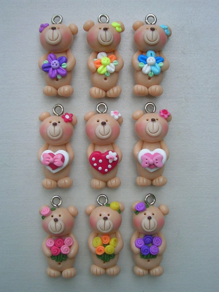 polymer clay ornament - Google Search