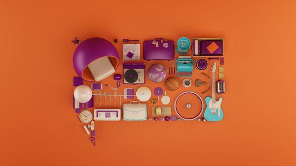 FOX Life: Identidade multicolorida que funciona