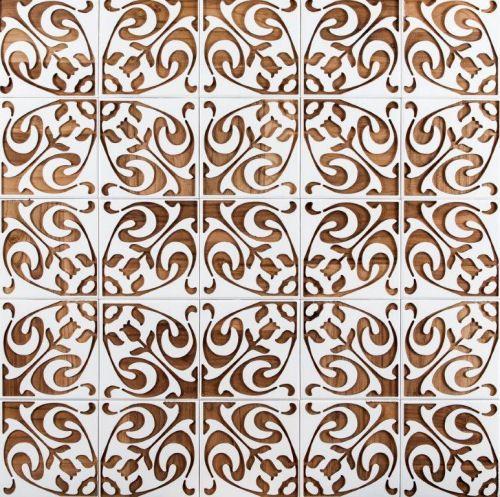 """Um dos belíssimos padrões da linha """"Colonial"""": baseada em azulejos portugueses."""