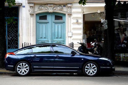 citroen c6 and it 39 s blue color l 39 elegance my style. Black Bedroom Furniture Sets. Home Design Ideas