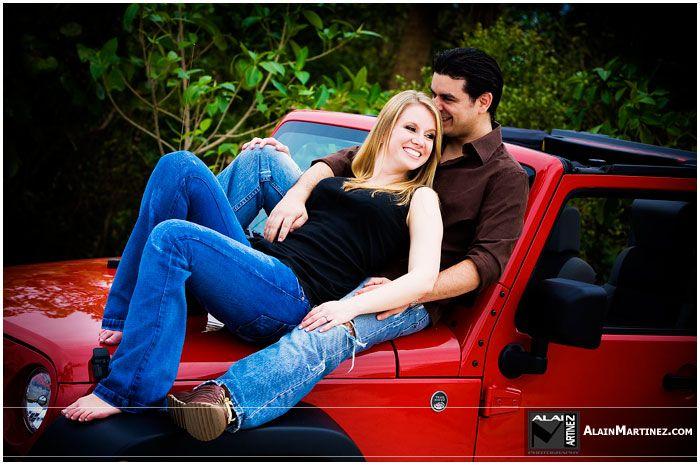 Fun Wedding Ideas Pinterest: Fun Couple Shot On Their Jeep Wrangler .