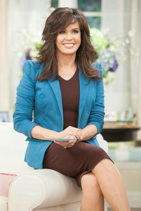 Marie Osmond... love the layers :)