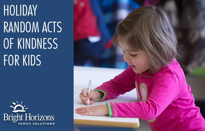 Holiday Random Acts of Kindness for Kids - Over 30 ways to get your children and family into the spirit of the holidays!
