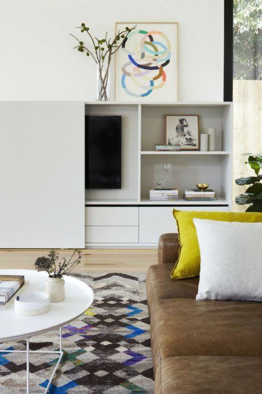 Die besten 25+ Fernseher verstecken Ideen auf Pinterest - wohnzimmer fernseher deko