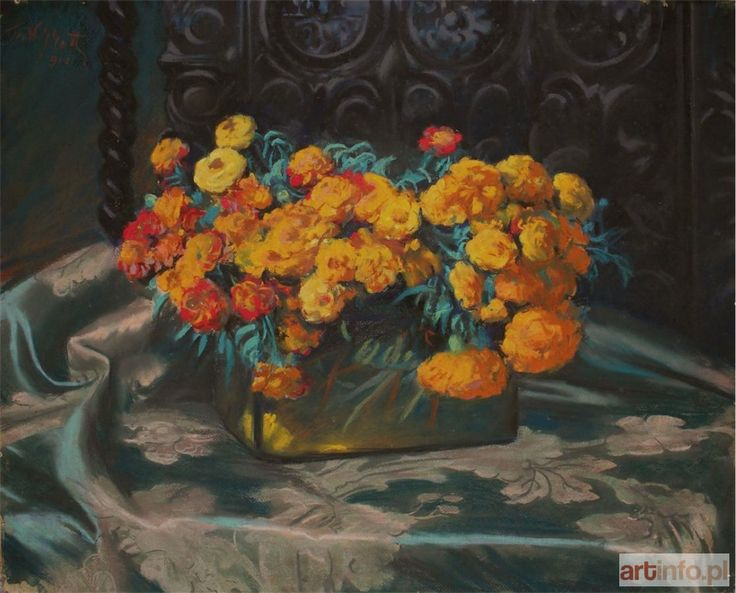Teodor GROTT ● Kwiaty (1918) ●l