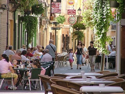 SPAIN.... DENIA  old town with a long history. Right back to Roman times it was an important centre.