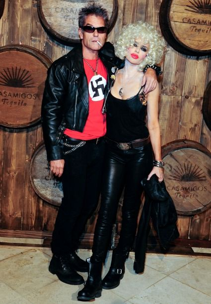 Lisa Rinna Apologizes for Swastika on Husband Harry Hamlin's Sid Vicious Halloween Costume